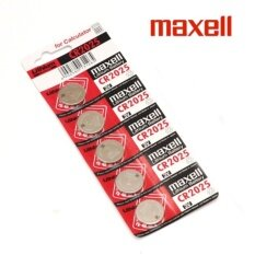 10PCS CR2025 GENUINE Maxell Japan Coin Cell Lithium Battery 3V Malaysia