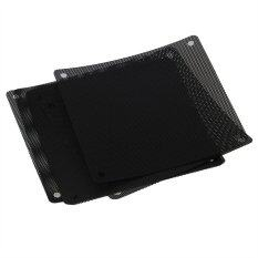 120mm PVC PC Cooler Fan Dust Filter Dustproof Cover for Computer Mesh Set of 10 (Black) Malaysia