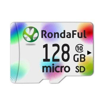 128GB Class 10 Micro SD Card with Adapter