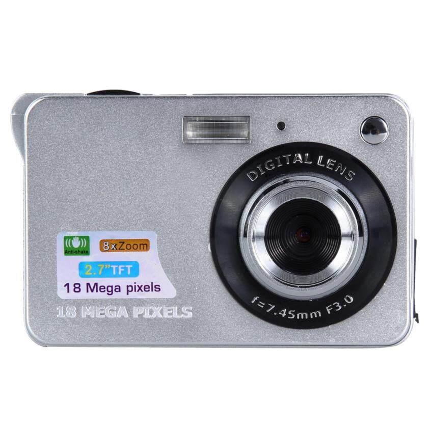 18MP 2.7 TFT LCD Digital Camcorder Camera DV 8X Digital Zoom HD (Silver)
