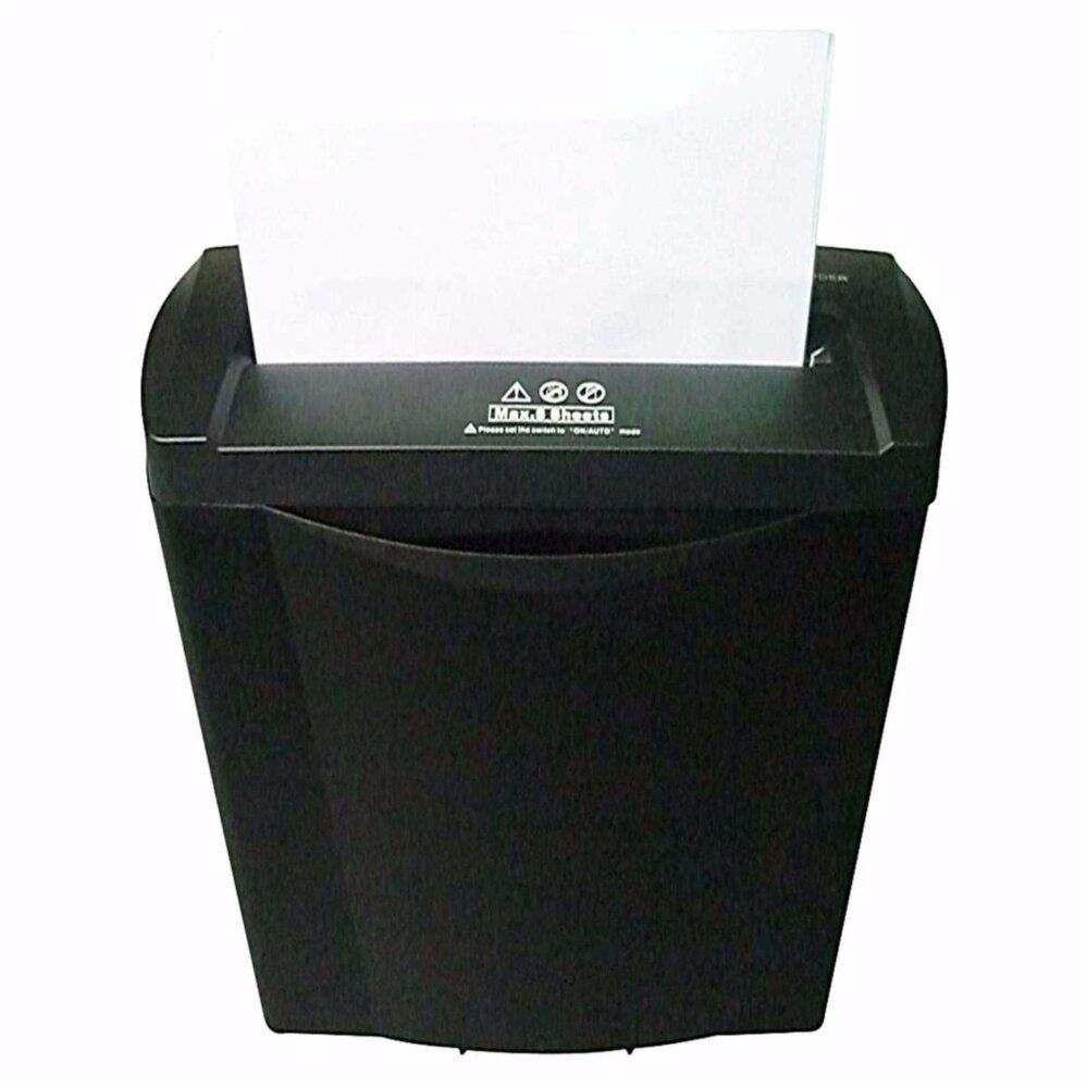 2 IN 1 POWERFUL PAPER SHREDDER MACHINE + 3 YEARS WARRANTY