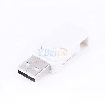 2-in-1 USB 2.0 OTG Adapter + Micro SD TF Card Reader for AndroidPhone ST2(White) - 5