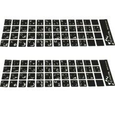 2 Pcs Arabic Sticker For PC / Laptop Keyboard Malaysia