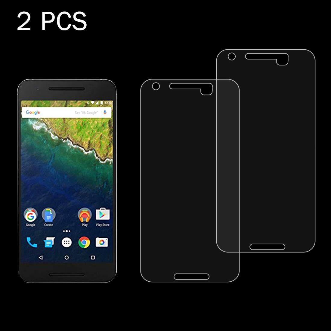 2 PCS for Google Nexus 6P 0.26mm 9H Surface Hardness 2.5D Explosion-proof