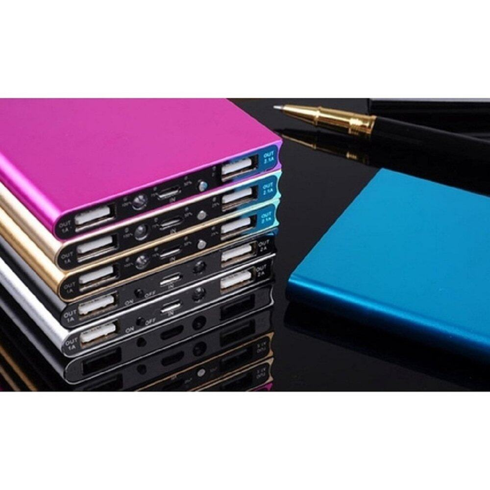 20,000 mAh Super Thin Powerbank with Backlight- FREE SHIPPING - LOWEST IN TOWN (Silver)