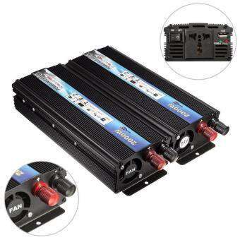 Harga 2000w Car DC 24V To AC 220V Modified Sine Wave Power InverterConverter Durable