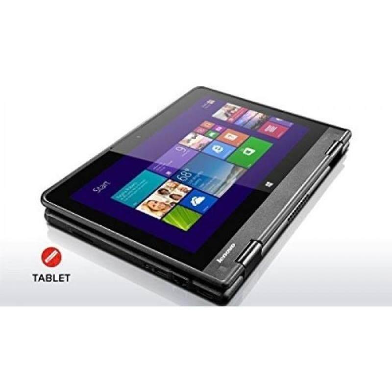 2016 Latest Lenovo Flagship ThinkPad Yoga 2-in-1 Convertible 11.6-inch IPS Touchscreen Laptop (Tablet), Intel Quad Core Processor, 4GB DDR3, 120GB SSD, HDMI, Bluetooth, Webcam, WiFi, Windows 10 Malaysia