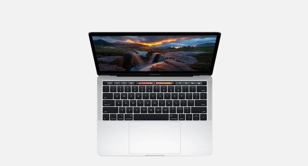 [2017] Apple Macbook Pro MPXX2ZP/A 13.3 Touch Bar Laptop Silver (i5 3.1GHz, 8GB, 256GB, Intel, Sierra) Malaysia