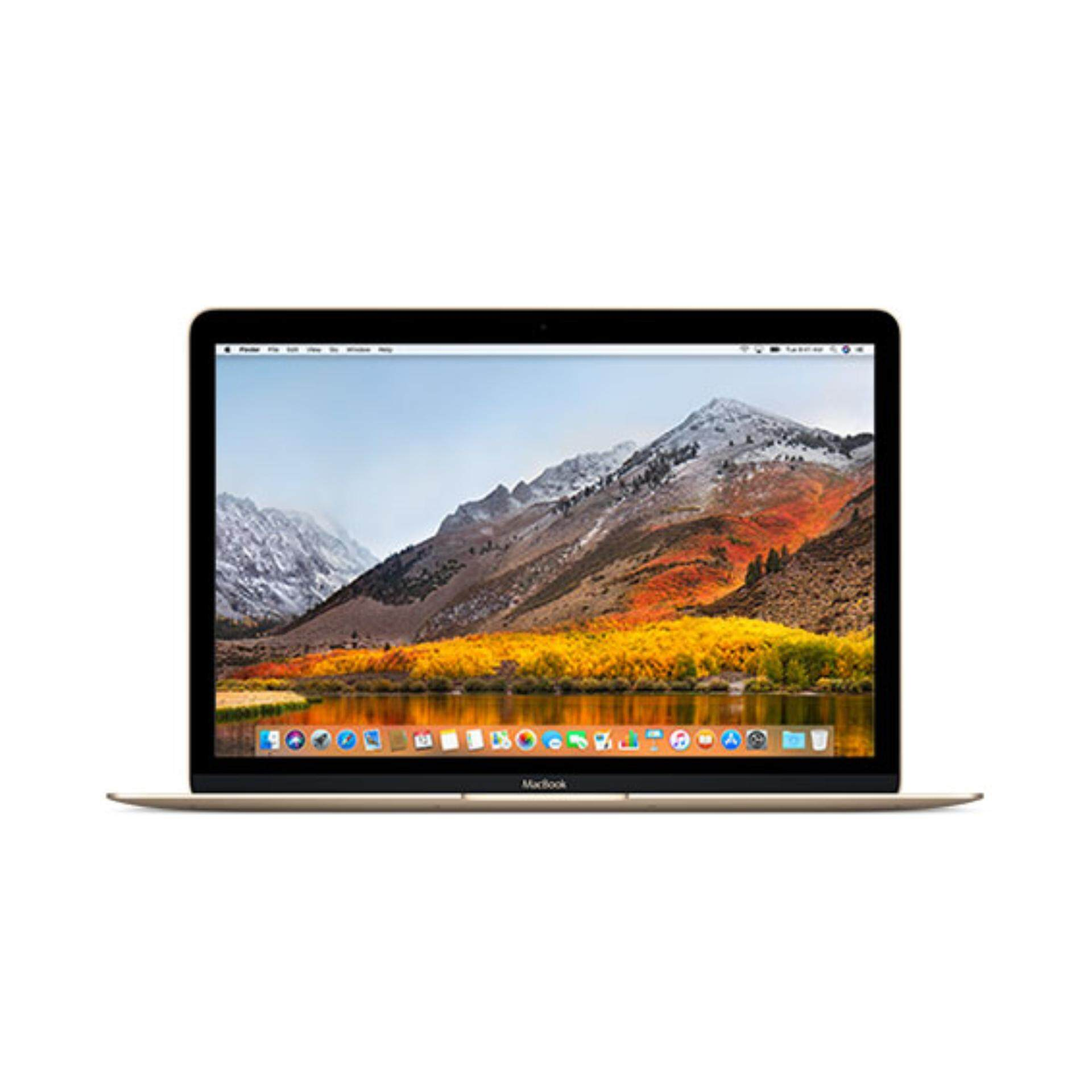 [2017 Model] Apple MacBook 12 (MNYK2ZP/A) 1.2GHz Intel m3/256GB - Gold Malaysia