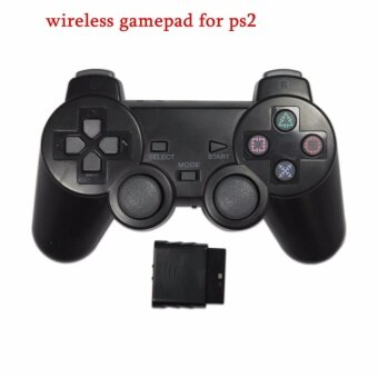 Harga 2.4G wireless game controller gamepad joystick for PS2 console playstation 2 video gaming play station for joypad