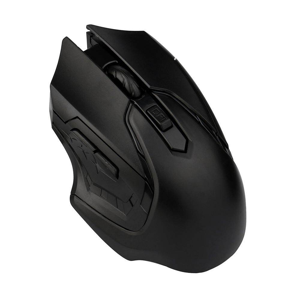 Unique Wireless Mouse 24ghz Fashion For Pc Laptop Q60 Taffware Optical 24g Black 3200dpi Gaming Mice Computer Intl