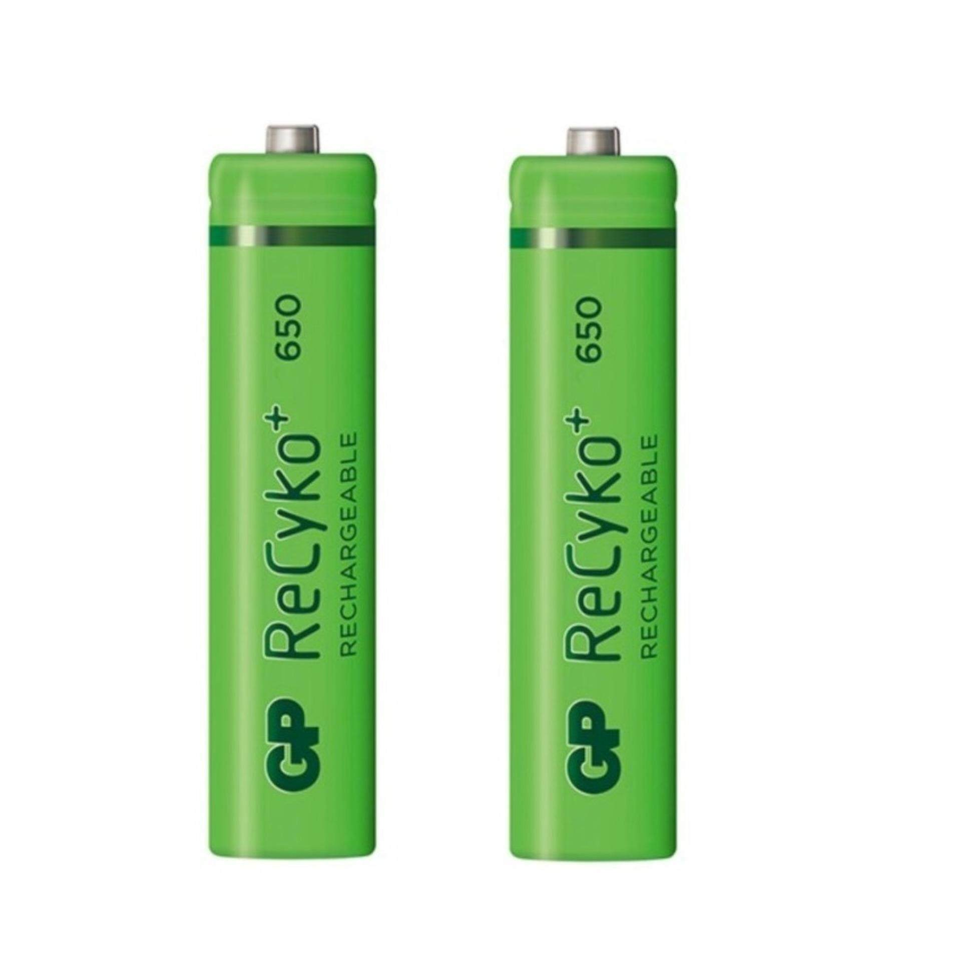 2PCS GP Recyko+ AAA 650mAh Rechargeable Battery - GP65AAAHCE-2GBAS2 Malaysia