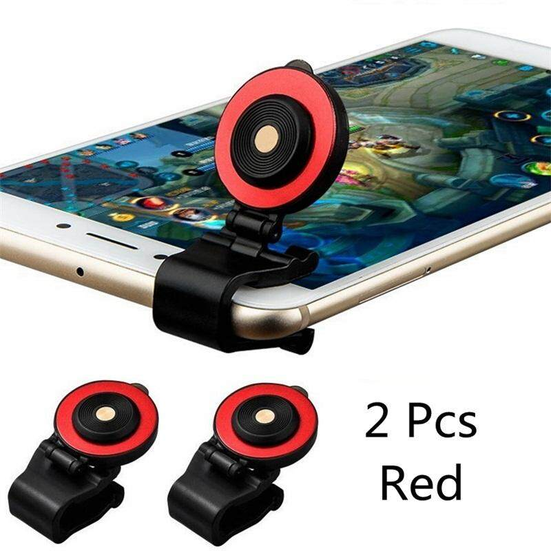 2pcs Mobile Joystick Clip Touch Screen Smartphone Mini Joystick for Phone tablet Arcade Games Controller - intl