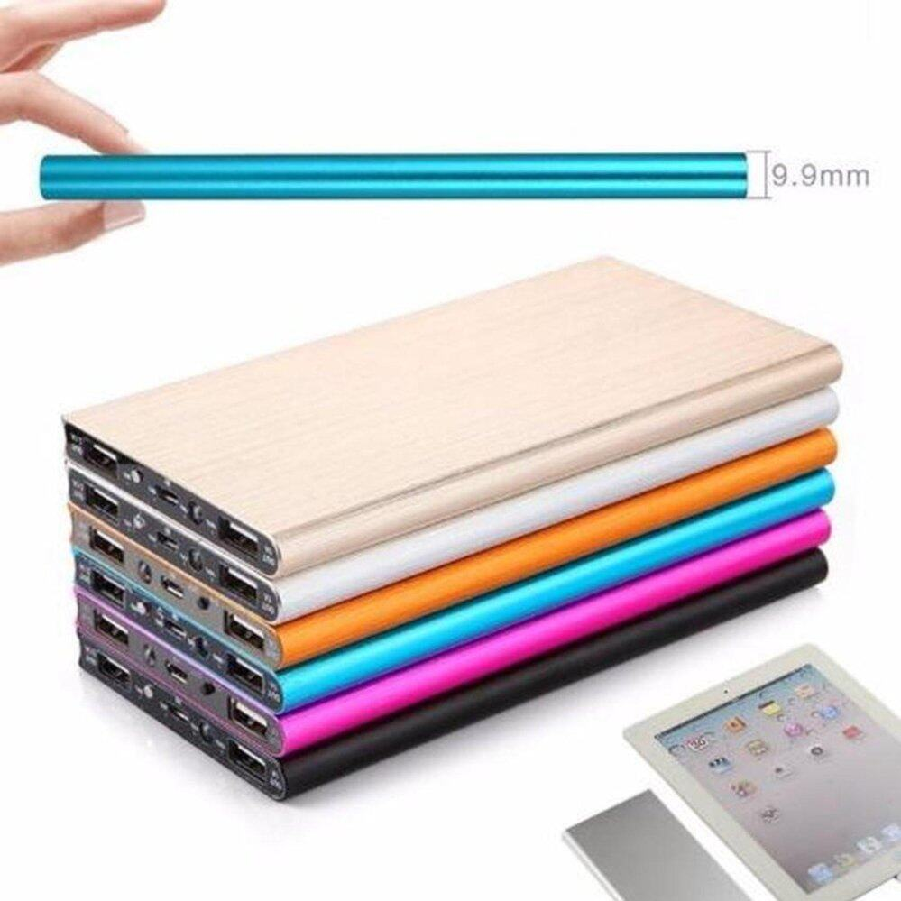2x UNITS 30,000 mAh Super Thin Powerbank with Backlight- FREE SHIPPING - LOWEST IN TOWN- 5 Metallic Colors
