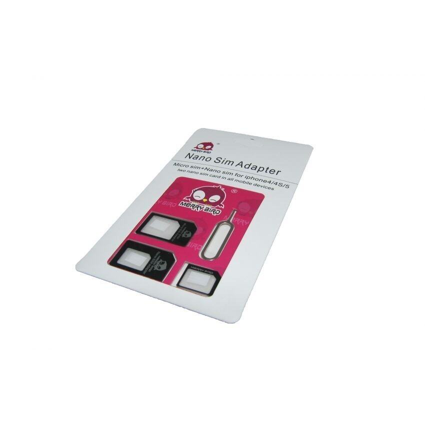 3 in 1 Nano Sim Card Adapter with Sim Card Needle Malaysia