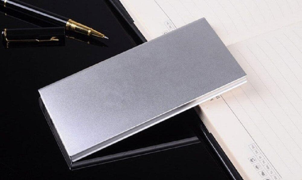 30,000 mAh Super Thin Powerbank with Backlight- FREE SHIPPING - LOWEST IN TOWN (Silver)
