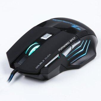 3200DPI LED Optical 7D USB Wired Gaming Mouse (Black) Malaysia