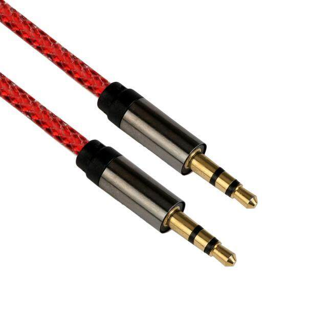 3.5 Mm Kabel Kabel Audio Bantu Pria untuk Pria Datar AUX Kabel RD-Internasional .