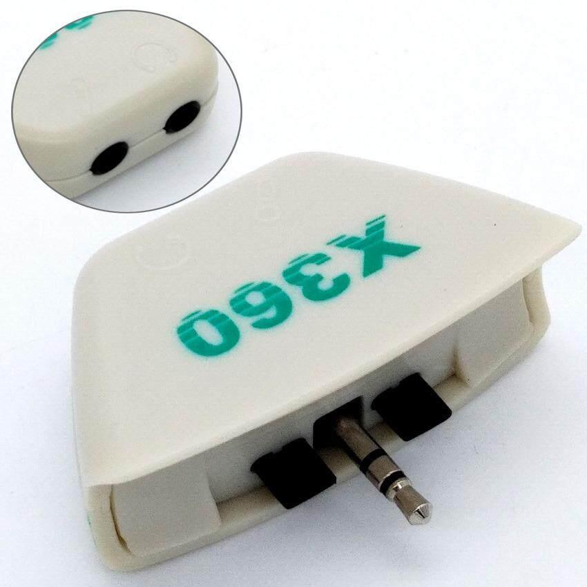 3.5mm Jack Mic Headset Earphone Converter Adapter For Xbox 360 Headphone (T14-7)