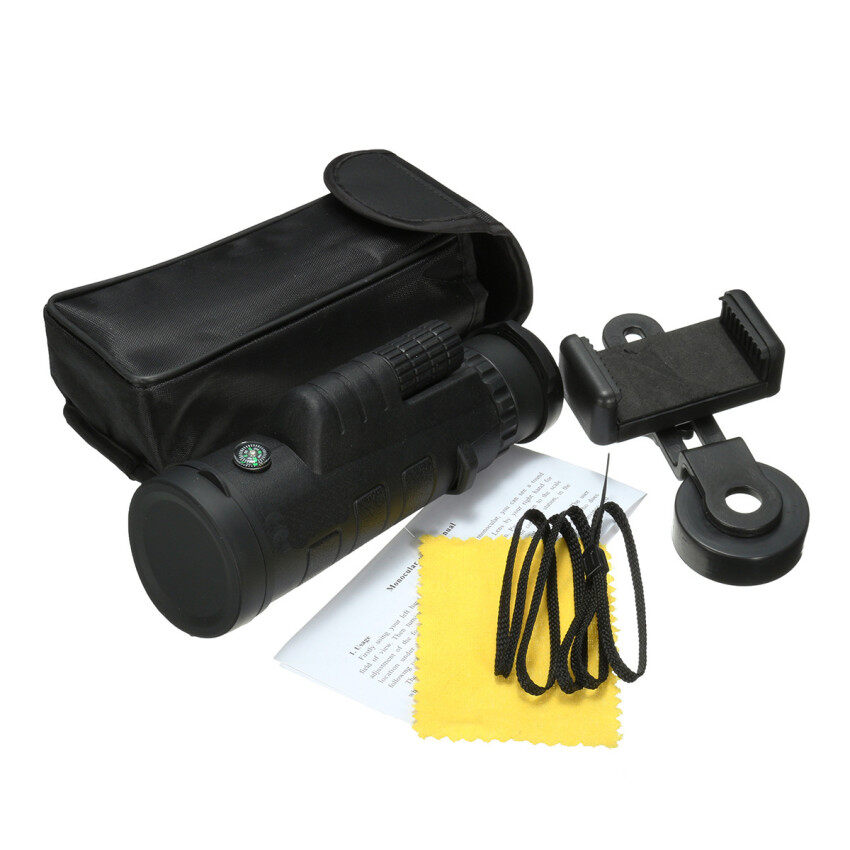 35x50 HD Zoom Monocular Observing Hiking Telescope Camera Lens with Phone Holder