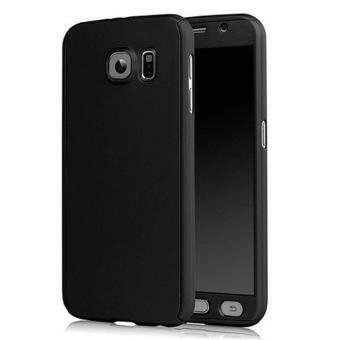 Harga 360 Degree Full Body Protection Cover Case With Tempered Glass forSamsung Galaxy Note 5 (Black)