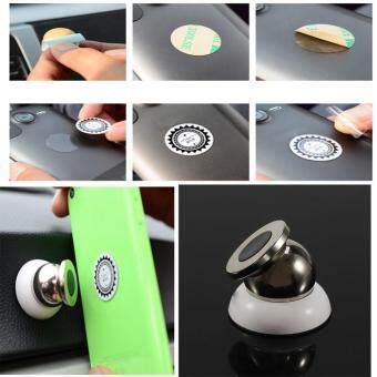 360 degrees magnetic car phone holder stand for phone magnetic holder For mobile phone in car support Car DVR GPS