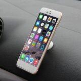 Harga 360 Mobil Dudukan Magnet Berputar Untuk Iphone Putih Asli Oem