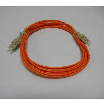 3C brand, SC-SC Duplex Fiber Patch Cord Cable, Multi Mode,62.5/125, 3meter, factory terminated