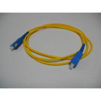 3C brand, SC-SC Simplex Fiber Patch Cord Cable, Single Mode, 9/125,1.5meter, factory terminated