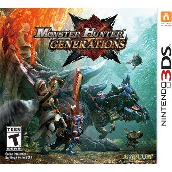 Harga 3DS Monster Hunter Generations Eng Version