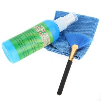 3in1 PC Laptop LCD Monitor Cleaner Plasma Screen Cleaning Kit (Blue) Malaysia