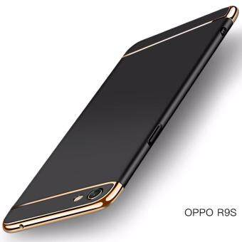 3in1 Ultra-thin Electroplated PC Back Cover Case for Oppo R9s