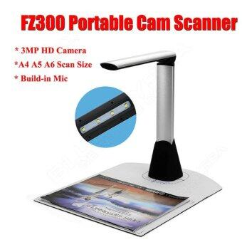 Harga 3MP 1200*1600 Portable Foldable High Speed A4 A5 Cam Scanner USBfor Windows 7