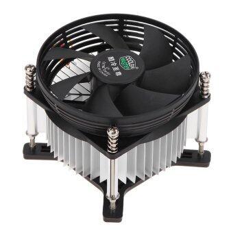 Fitur 4 Pin Komputer Cpu Cooler 3800 Rpm Kipas Pendingin Hitam Pc