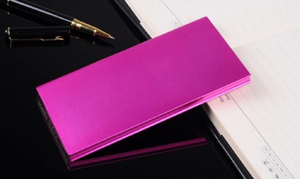 45,000 mAh Super Thin Powerbank with Backlight- FREE SHIPPING - LOWEST IN TOWN (Pink)