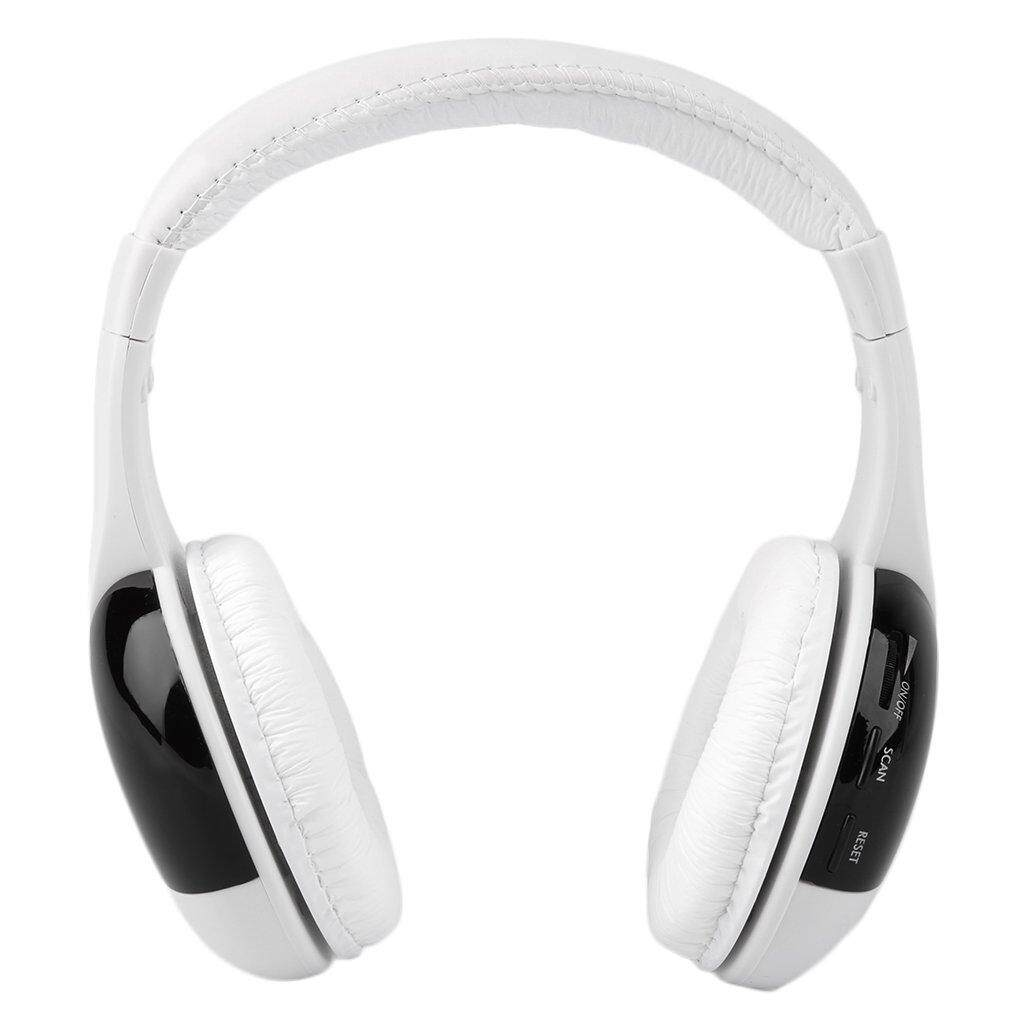 Rp 154.000 5 in 1 HiFi Wireless Headphone Earphone Headset FM Radio Monitor MP3 .