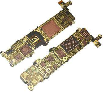 5 pcs/lot New for iPhone 5S 5GS Nude Motherboard Naked MainboardBare Light Logic Board