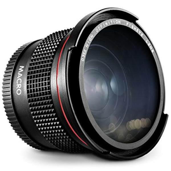 52 Mm 0.35x Foto Altura FISHEYE Lebar Sudut Lensa (untuk Macro Portion) untuk Nikon D7100 D7000 D5500 D5300 D5200 D5100 D3300 D3200 D3100 D3000 DSLR Kamera-Internasional