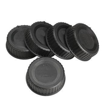 Harga 5pcs Rear Lens Cap Cover for All Nikon AF AF-S DSLR SLR Camera LF-4Lens