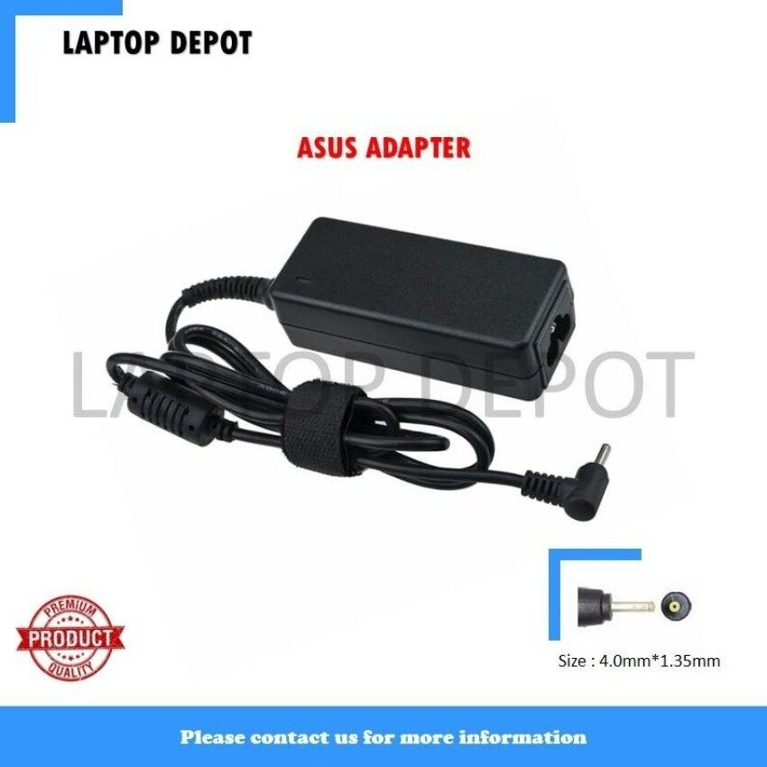 (6 Months Warranty) Replacement Laptop/Notebook AC Adapter ChargerAsus Vivobook S200E 19V 1.75A (33W) 4.0 x 1.35mm - intl
