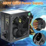 600W Quiet 120mm Fan 20/24pin ATX 12V 4/8-pin PC Power Supply HOT