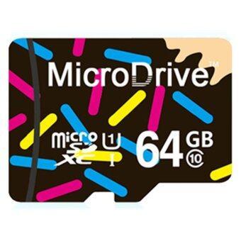 64GB Class 10 Micro SD card with Adaptor(Black)