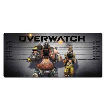 Harga 700X300X3MM Overwatchs Large MousePad Razer Supersize Mouse Pad MatOverlock Game Keyboard Pad for Gamer