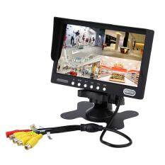7 4 Split 4-Video TFT LCD Car Rear View Monitor Backup 500:1 Built-in Speaker Malaysia