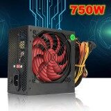 750W 12V ATX PFC Computer Power Supply 12CM Fan 80+ Gold 20+4pin F/ Intel AMD PC US Plug