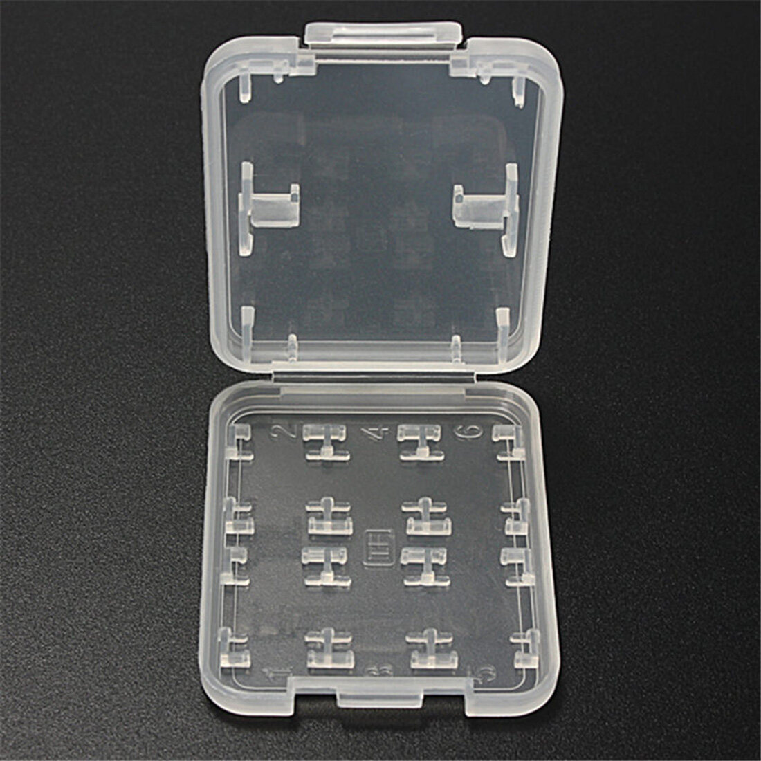 8 in 1 Plastic Micro for SD SDHC TF MS Memory Card Storage .