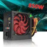850W 12V ATX Computer Power Supply 12CM Fan 20+4PIN For Intel AMD PC 110V-230V