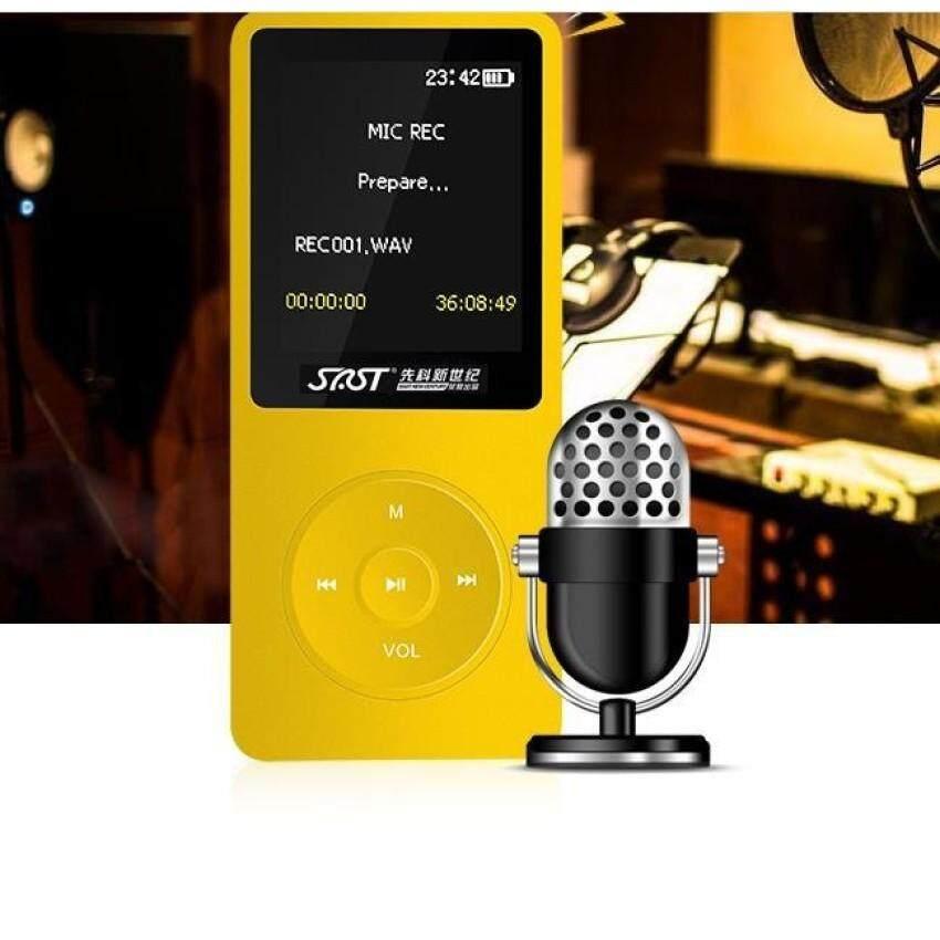 8G MP3 player Small video Repeat Explicit lyrics motion HiFi MP3MP4 Music Player FM Recorder TF Card - intl