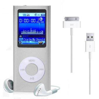 8GB MP3 MP4 Player (Silver)