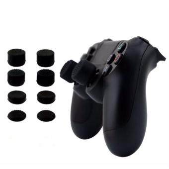 Harga 8pcs x Silicone Controller Analog Grips Thumbstick Cover ForPS4/PS3 Thumb Grip For Sony Playstation 4 Game AccessoriesReplacement